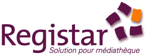 Suivi des acquisitions : Logo Registar
